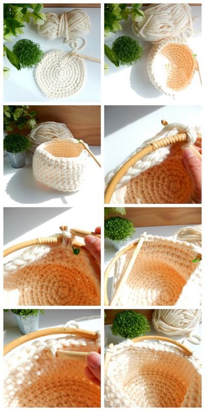 diy un panier style scandinave au crochet 2