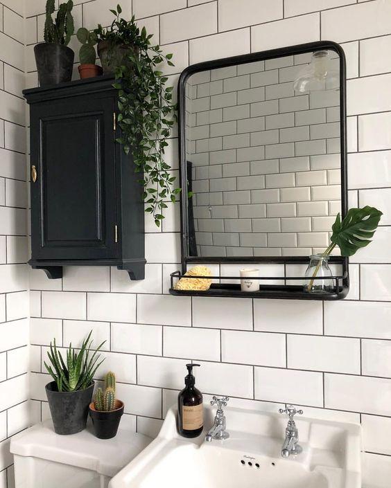 decorer et organiser une petite salle de bain 4