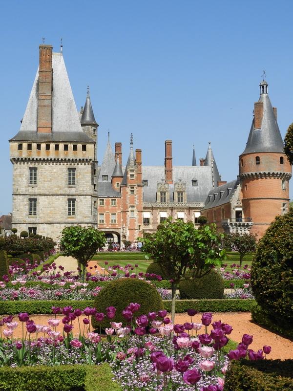 visite touristique : les tulipiades au chateau de maintenon 3