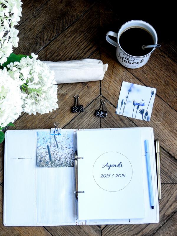 agenda 2018 2019 a imprimer gratuitement bullet journal ou planner 1