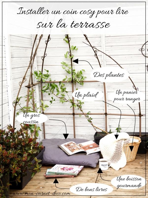 creer un coin lecture cosy sur sa terrasse 1