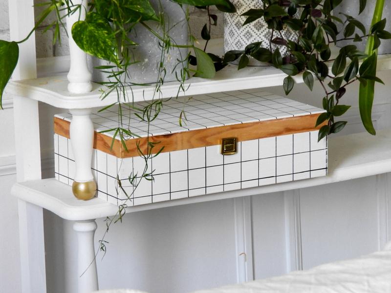 customisation facile d'une boite en bois