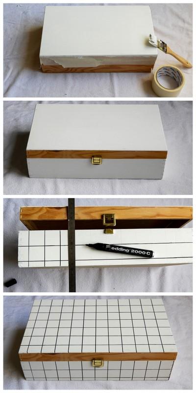 customisation facile d'une boite en bois 2