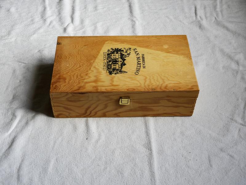 customisation facile d'une boite en bois 1