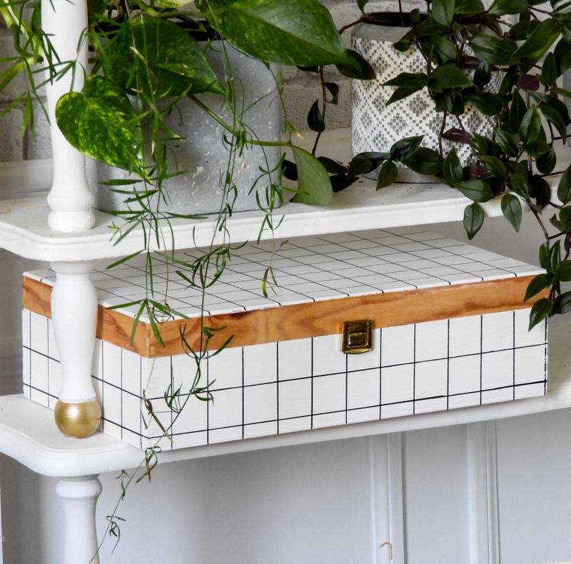 customisation facile d'une boite en bois 3