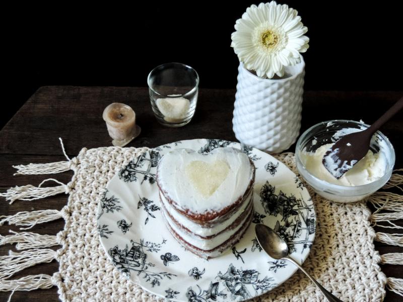 Recette de gateau aux carottes et zeste de mandarine version naked cake