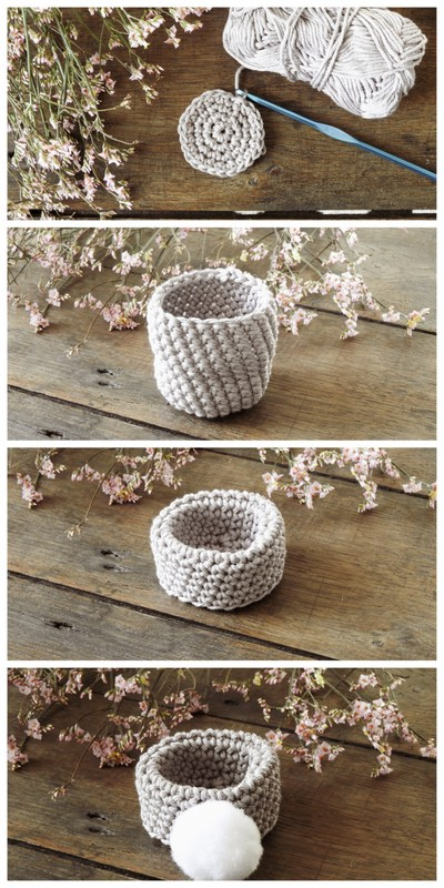 DIY paques des coquetiers au crochet trop mignons 1