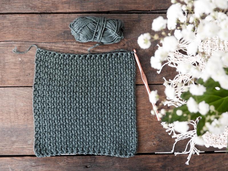 DIY des lavettes de ménage au crochet 1