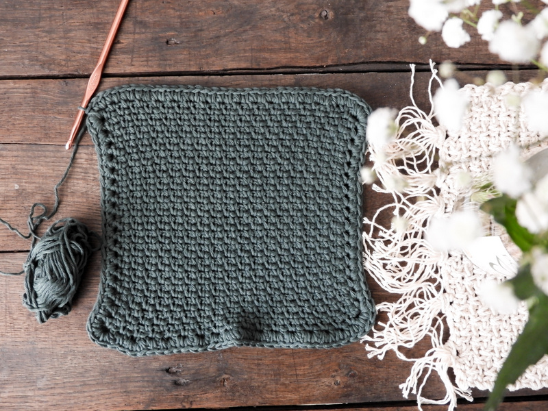 DIY des lavettes de ménage au crochet 2