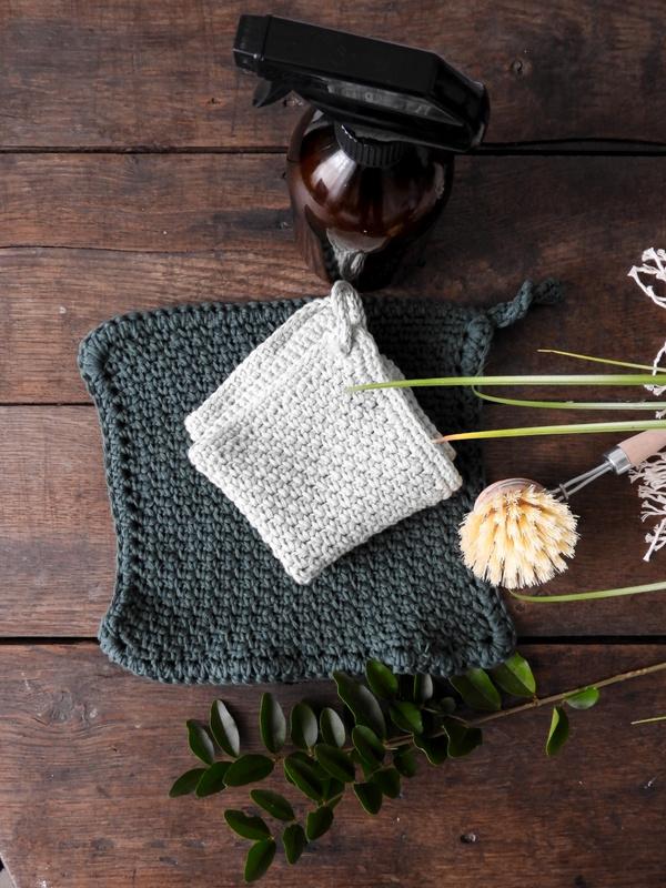 DIY des lavettes de ménage au crochet 5