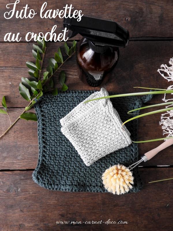 DIY des lavettes de ménage au crochet 6