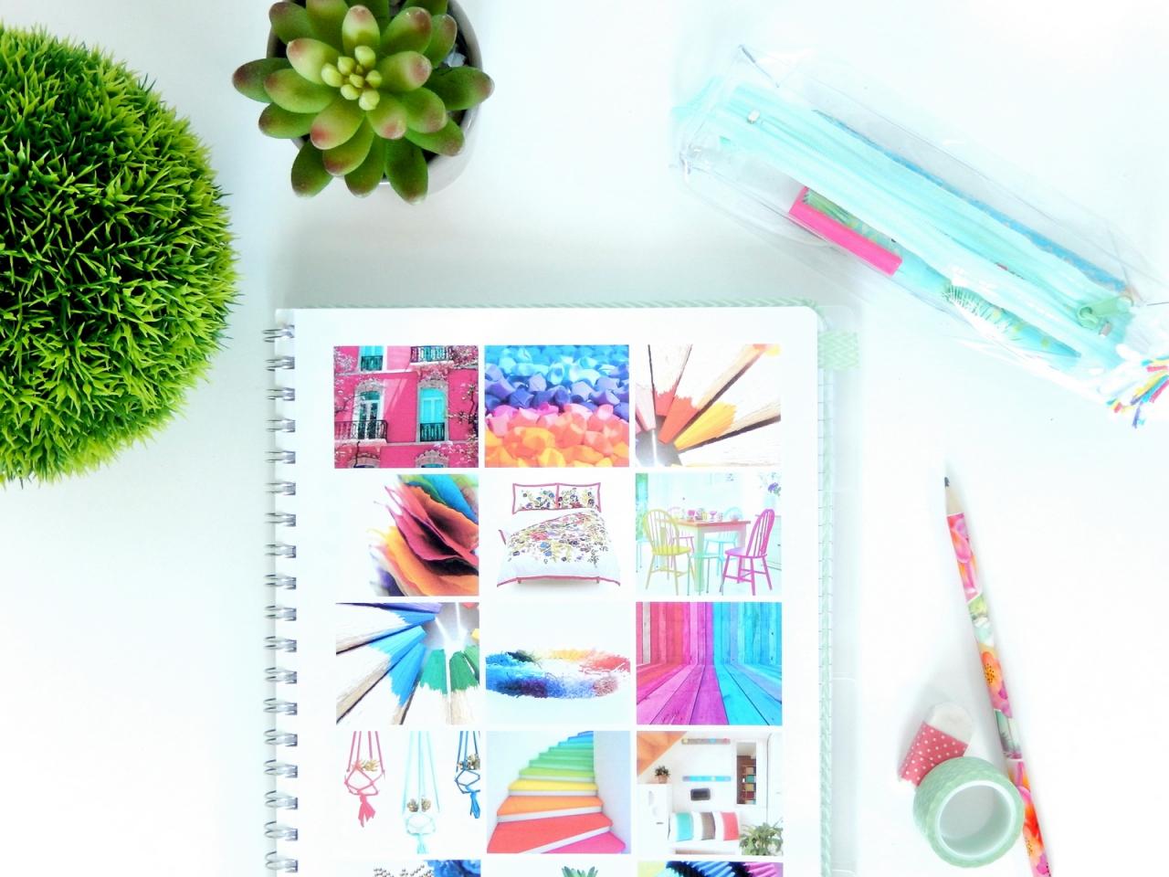 Se cr er un carnet projets inspir du bullet journal for Journal art et decoration