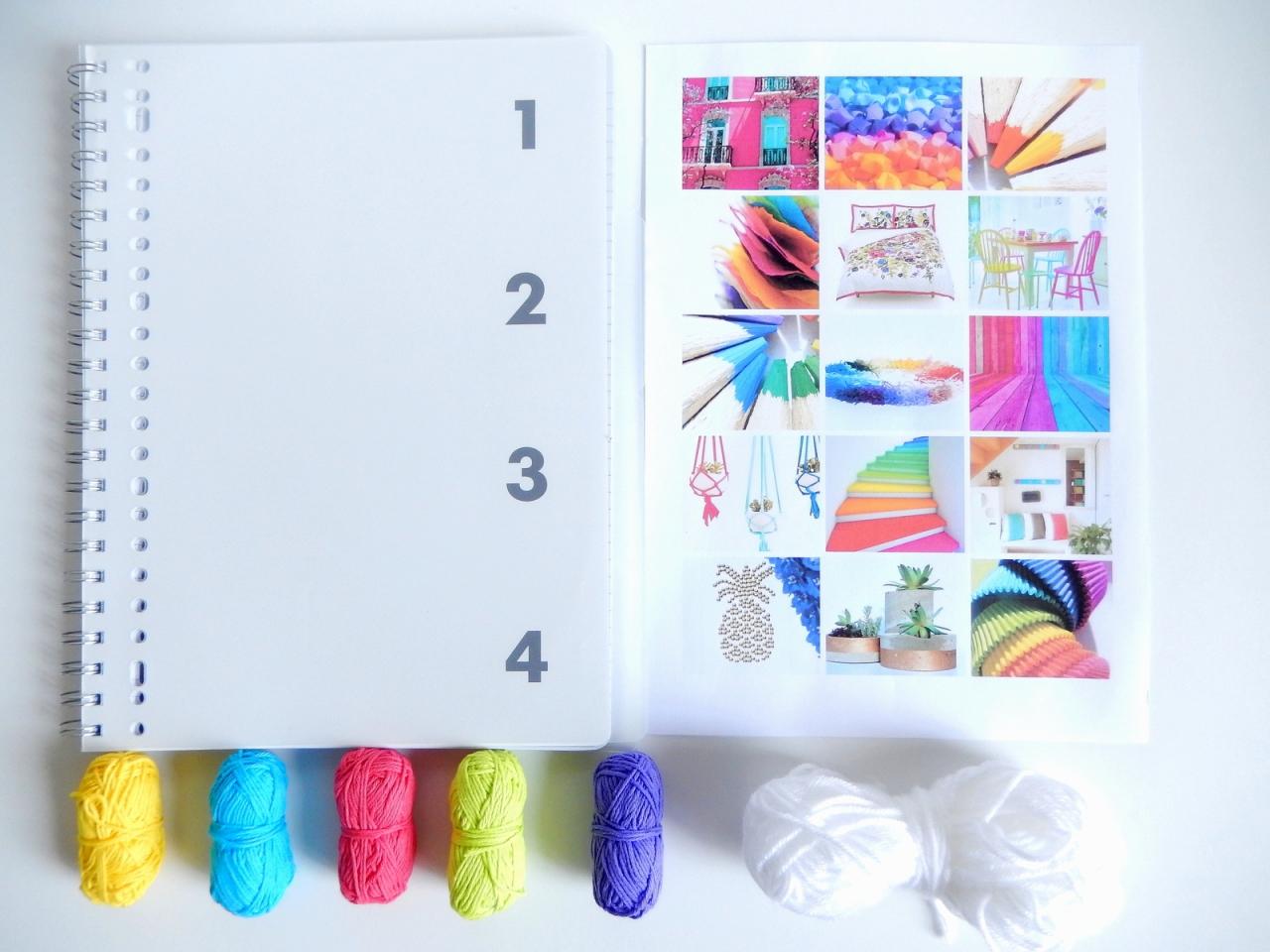 se cr er un carnet projets inspir du bullet journal mon carnet d co diy organisation du. Black Bedroom Furniture Sets. Home Design Ideas