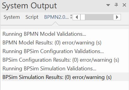 validation-de-la-simulation-bpsim-et-du-modele-bpmn