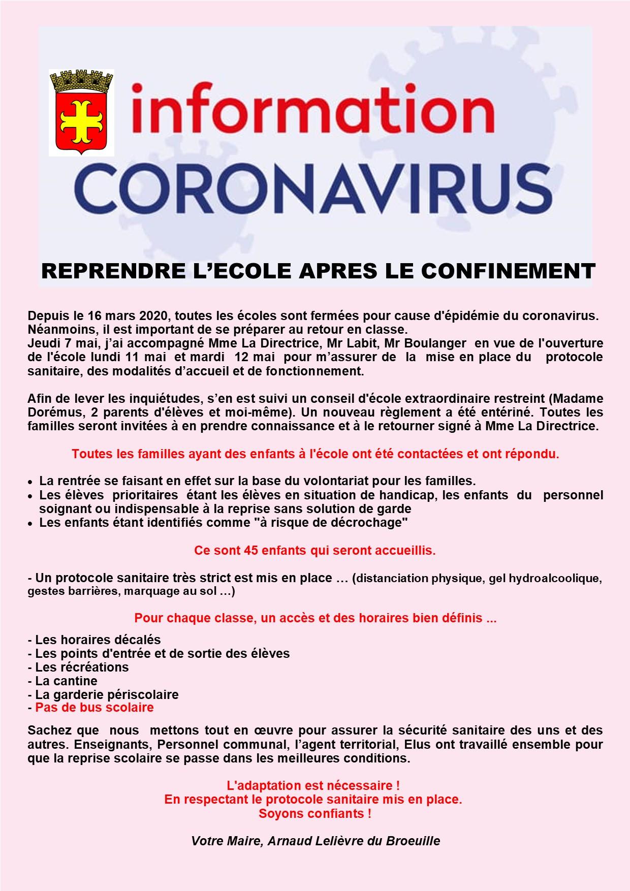INFOS CORONAVIRUS  REPRISE ECOLE 08052020.jpg