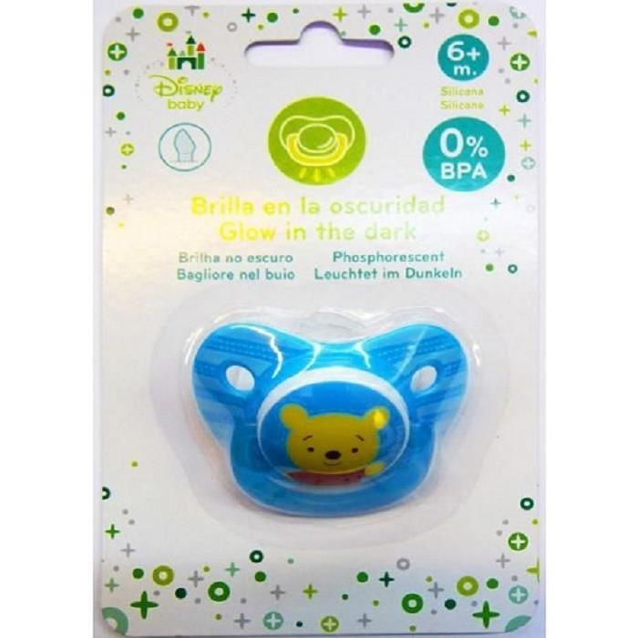 Composition: Silicone 0% BPA Elle est phosphorescente dans le noir Pour bébé de 6 mois et plus En rupture de stock actuellement... Prix: 4€