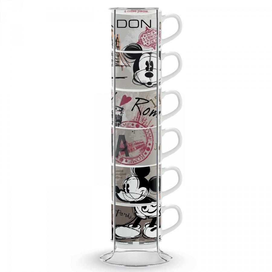 Créateur: Egan Composition: Support en métal / Tasses en céramique Convient pour le lave-vaisselle Référence: PWM02I/6XY Prix: 32€