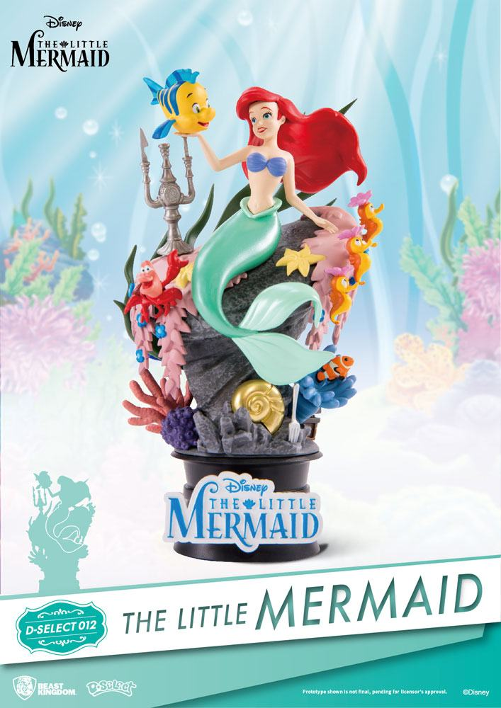 Diorama D-Select The Little Mermaid