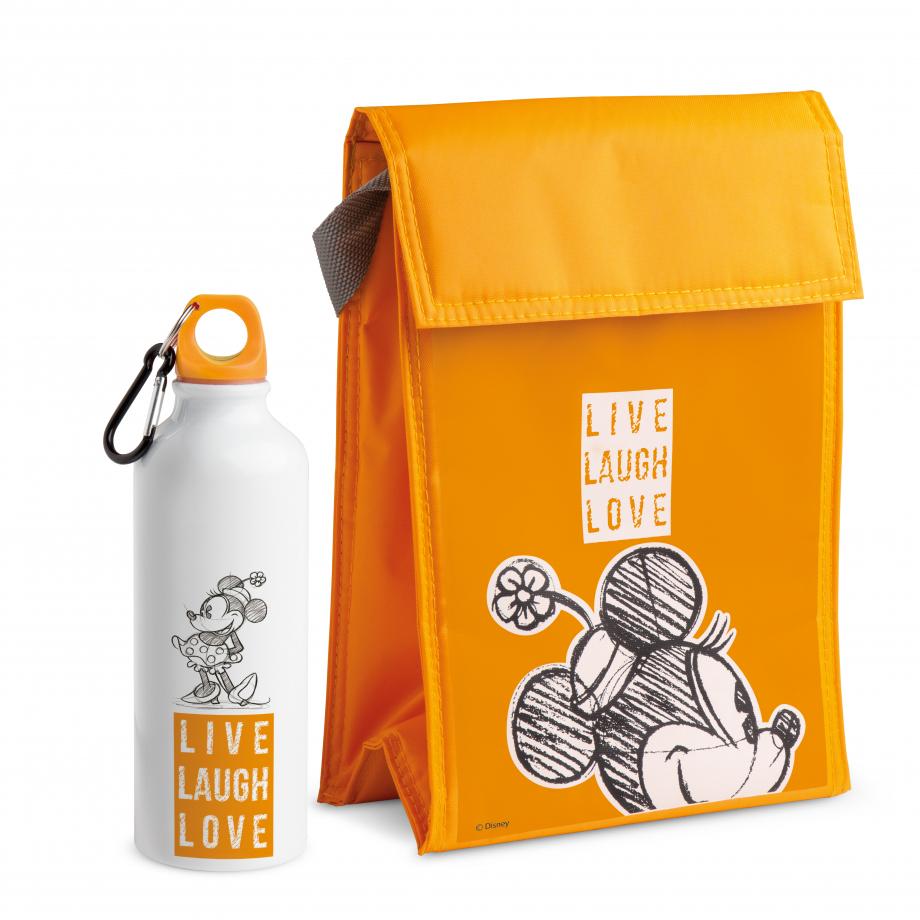 Présenté dans une boîte-cadeau Créateur: Egan Composé d'une gourde en aluminium et d'un sac isotherme assorti Capacité de la gourde: 500 ml Taille du sac: 2 gourdes ou 2 bouteilles de 500 ml Référence: PWMSETLL/7 Prix: 24€