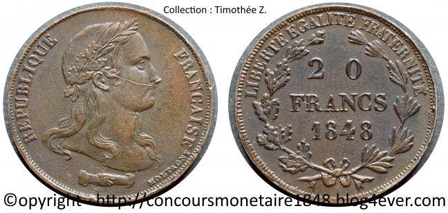 20 francs 1848 - Concours Montagny - Cuivre .jpg