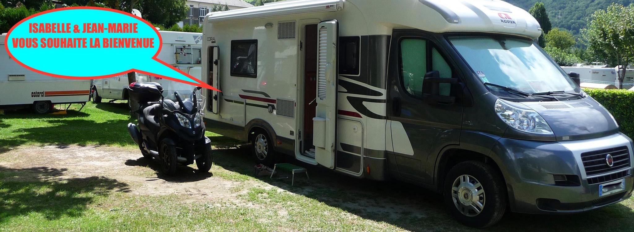 Ballades En Camping-Car Isa & J-Marie