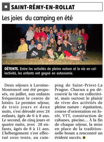 ARticle mini camp juillet 2016.jpg