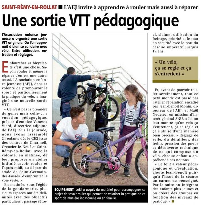 Article sortie VTT OCTOBRE 2021