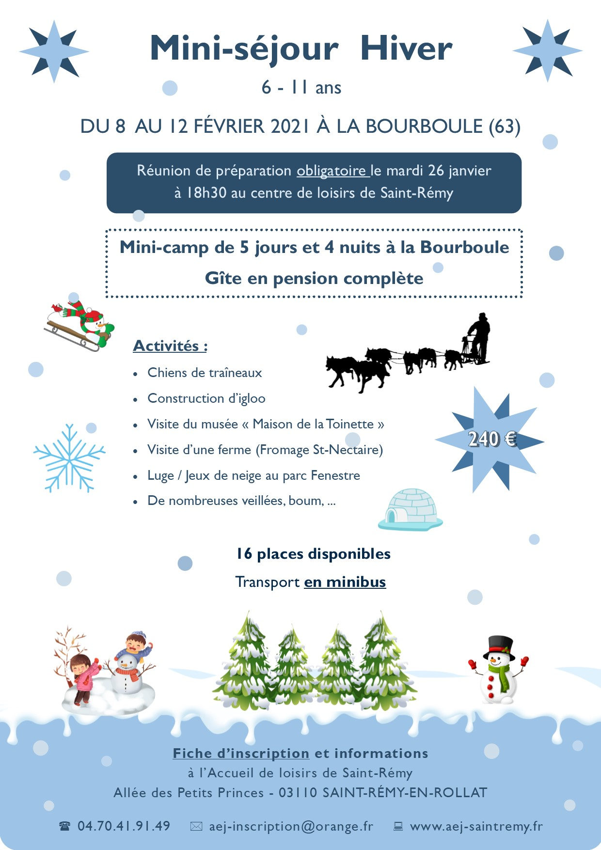 Flyers hiver