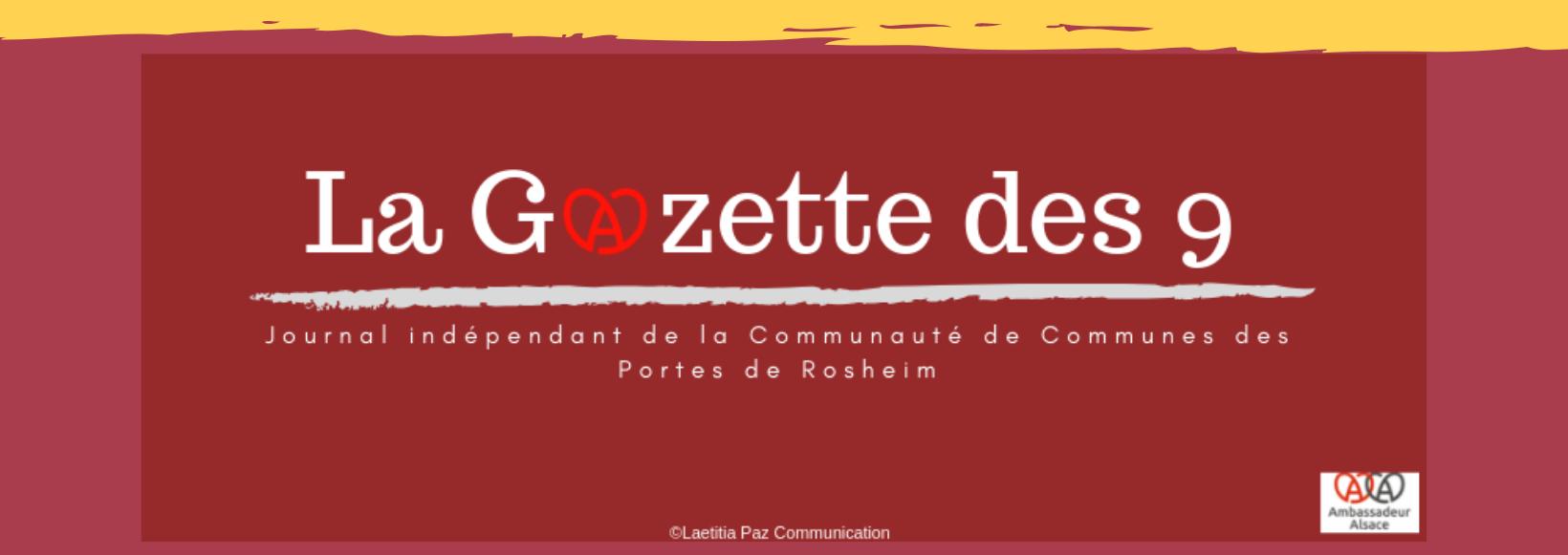 La Gazette des 9, le journal de Rosheim et du Piémont des Vosges