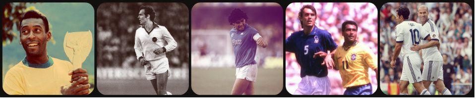 FOOTBALL-THE-STORY, les légendes du foot