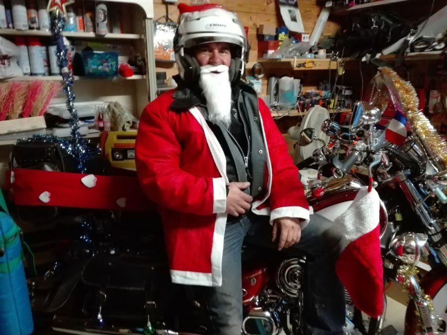 les preparatifs de la sortie des Peres  Noel
