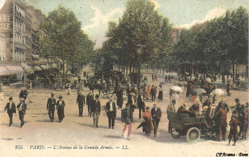 Avenue de la Grande ArméePorte Maillot.PNG