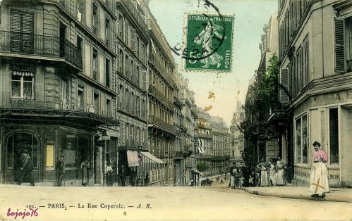 La Rue Copernic1906.PNG