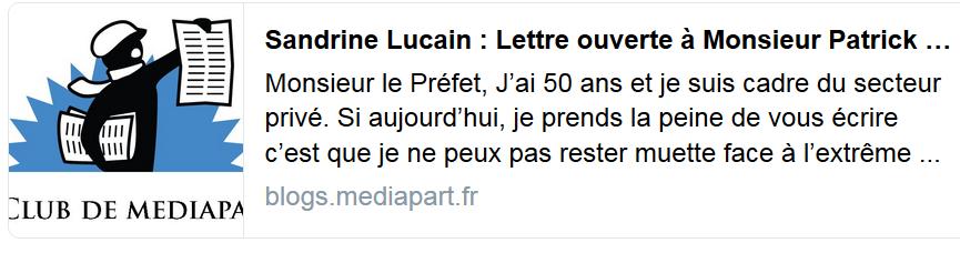 Violences Policières Le Cas De Sandrine Lucain 50 Ans
