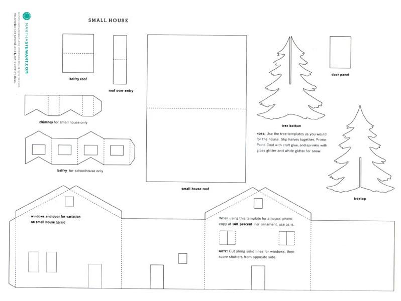 les maisons de no l mamie framboise bricole. Black Bedroom Furniture Sets. Home Design Ideas