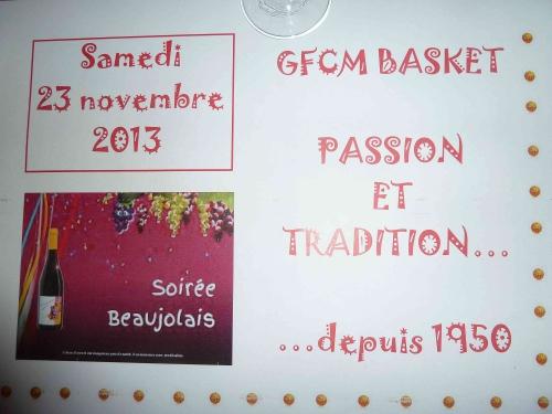 Soirée beaujo GFCM