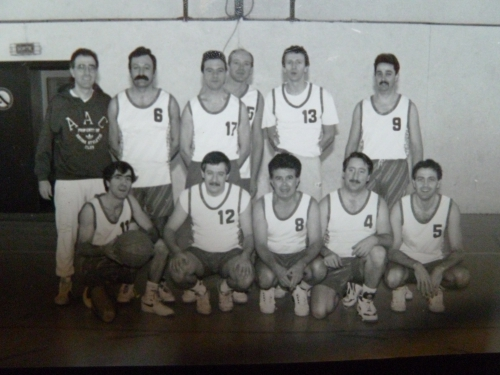 Equipe Anciens GFCM Basket