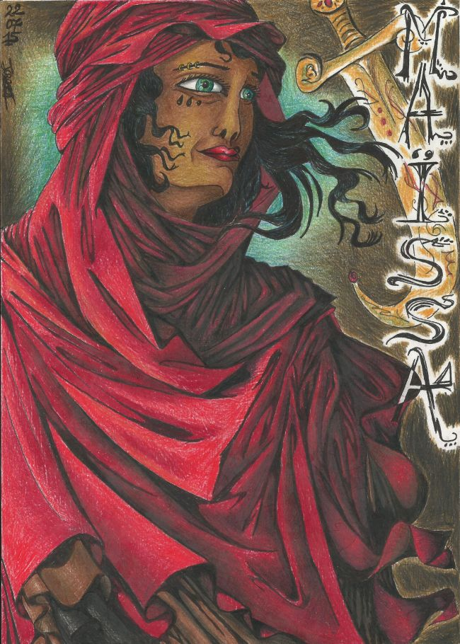 Femme du désert