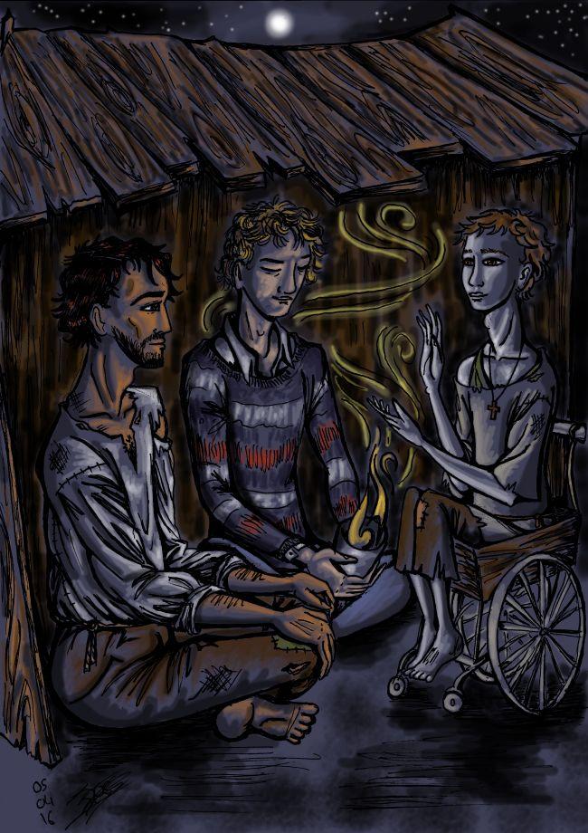 Une nuit, trois voyageurs...