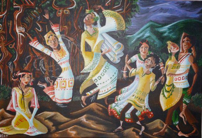 Danse sacrale au clair de lune