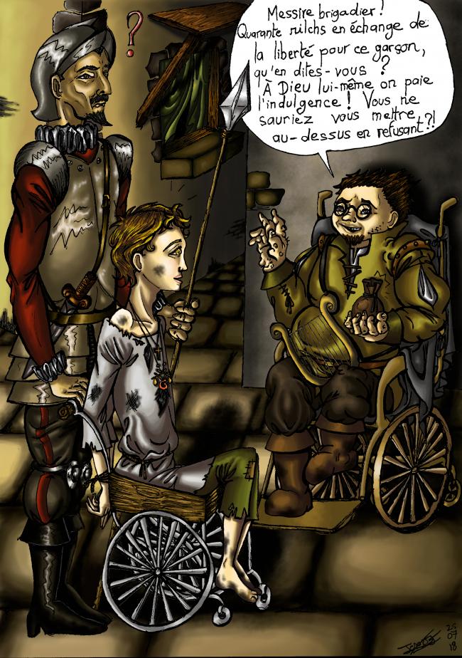 Lénius sauve Tristan