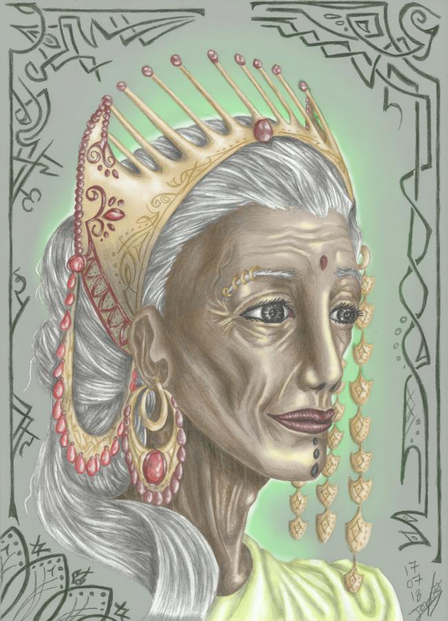 Une vieille Rani