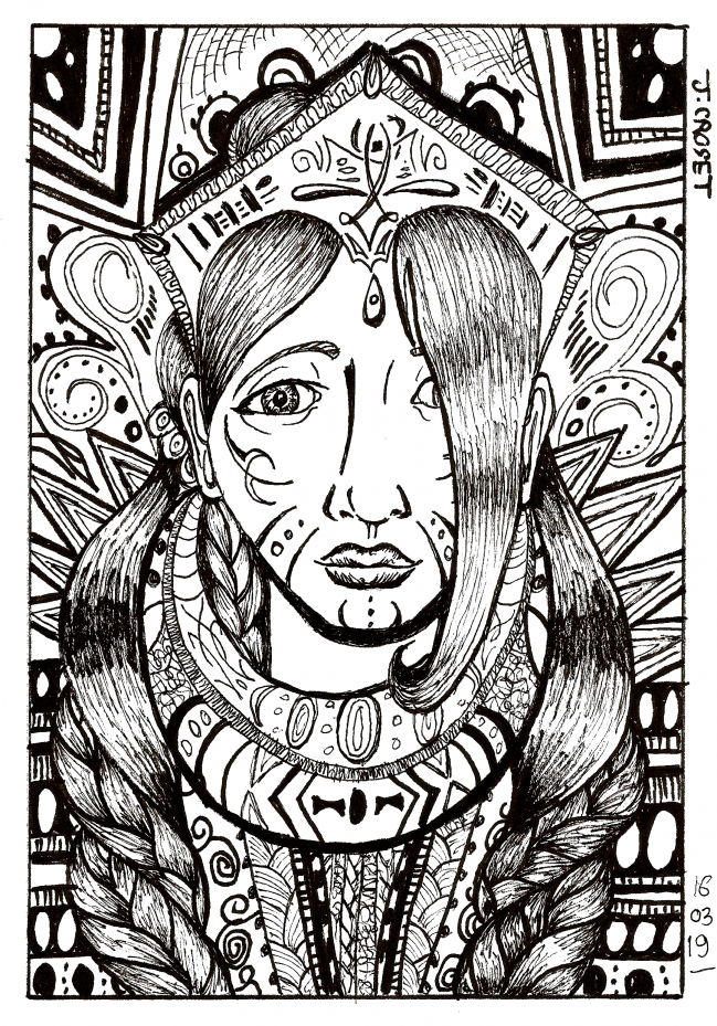 Portrait tribal