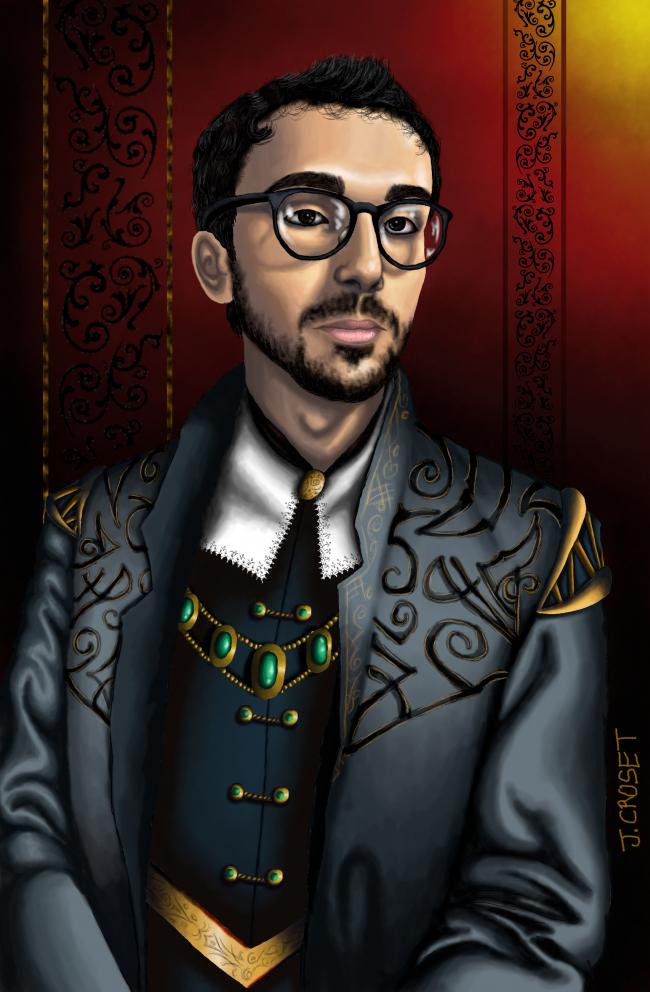 Portrait en costume baroque