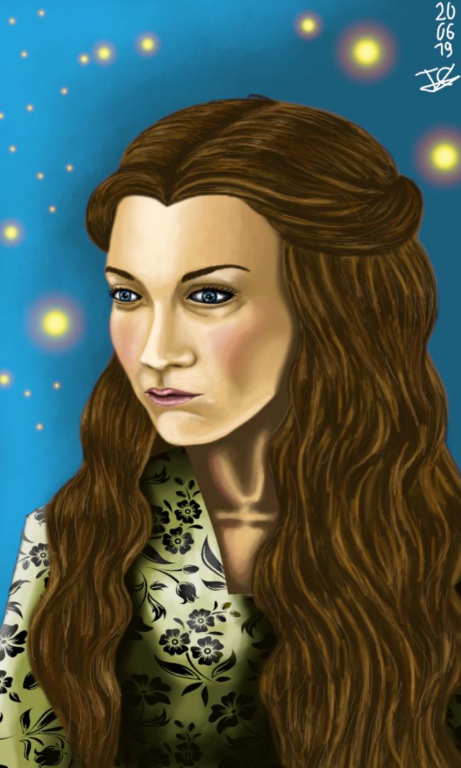 Belle de seigneur ~ d'après Margaery Tyrell (Game of Thrones)