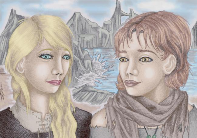Tristan et une jeune amie