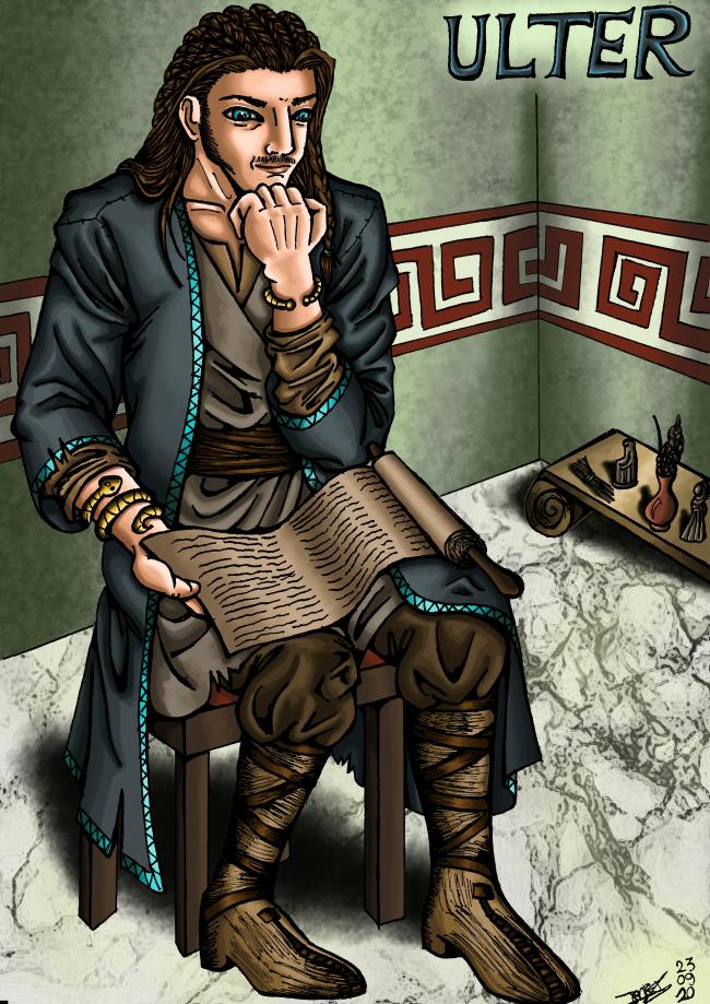 Jeune germain retenu à Rome