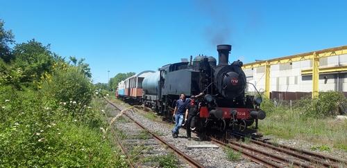 Essais de train à vapeur, saison 2019