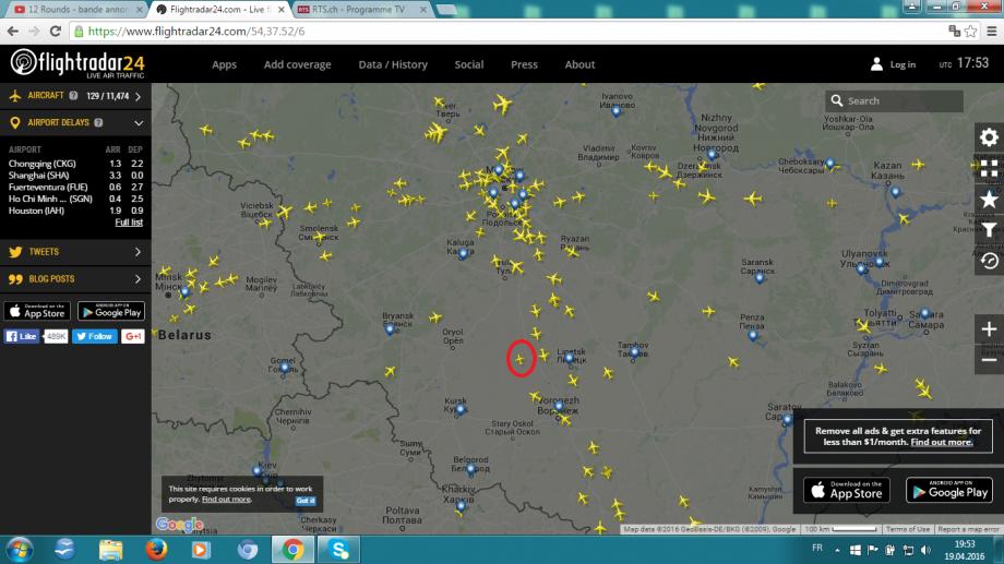 19 h 55 suisse le 19 avril 2016 avion sans identification.png