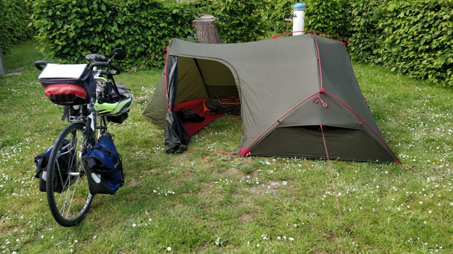 J'etrenne ma nouvelle tente, confort absolu !